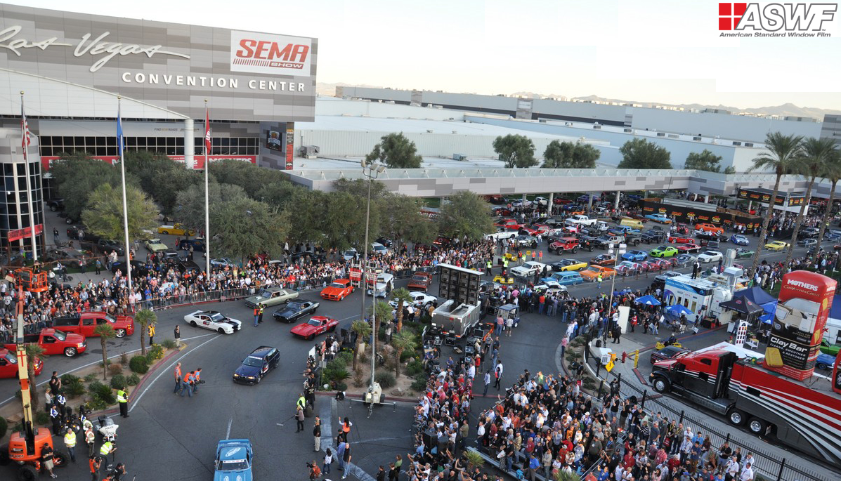 """SEMA show"" exhibition took place in Las Vegas (USA)."